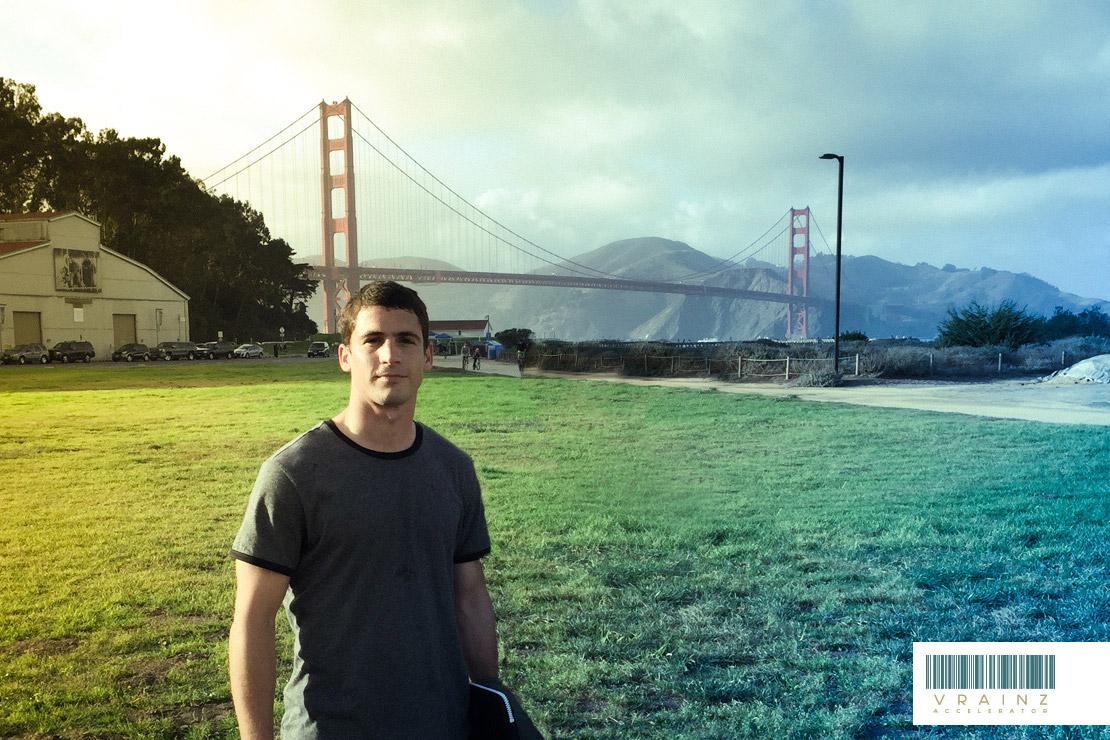 Nicolas Belgrano de Vrainz en Silicon Valley